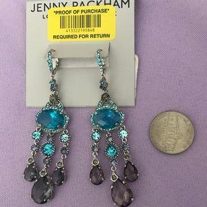 NWT Jenny Packham Precious Stones Earrings